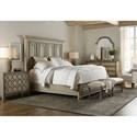 Hooker Furniture Alfresco California King Bedroom Group - Item Number: 6025 CK Bedroom Group 2