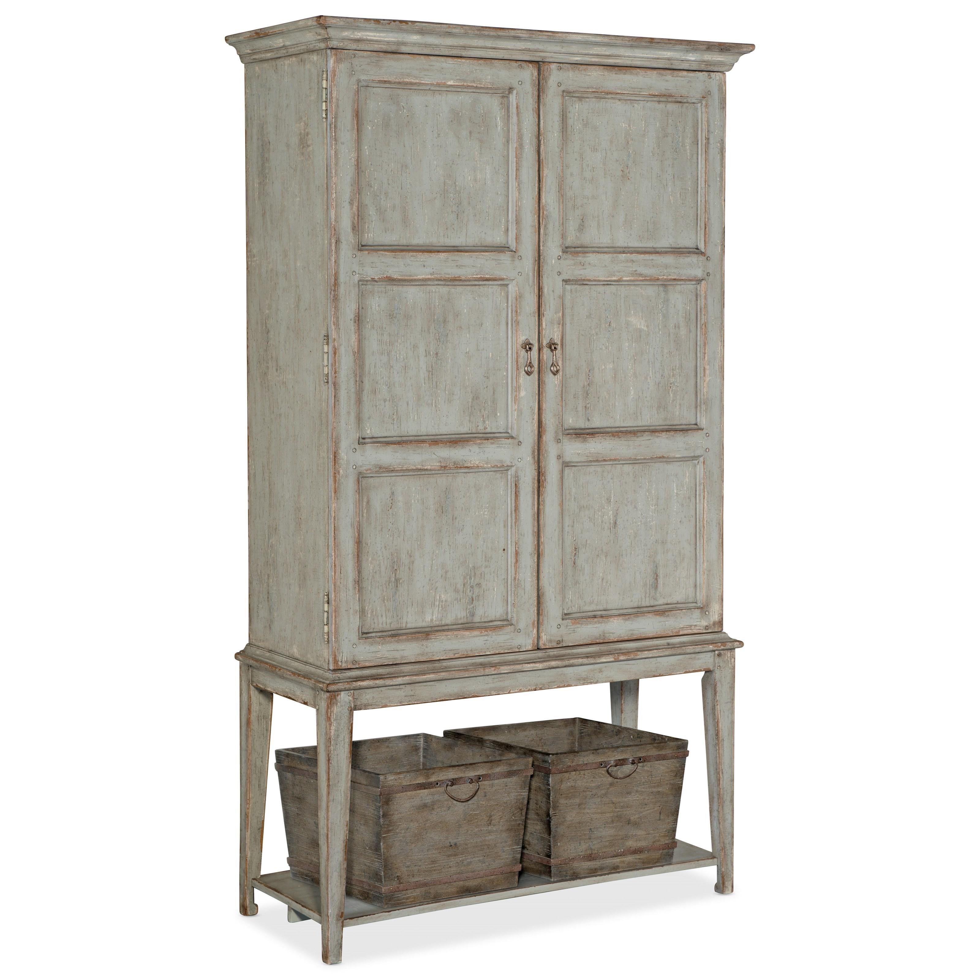 Alfresco Vino della Vita Vintners Cabinet by Hooker Furniture at Miller Waldrop Furniture and Decor