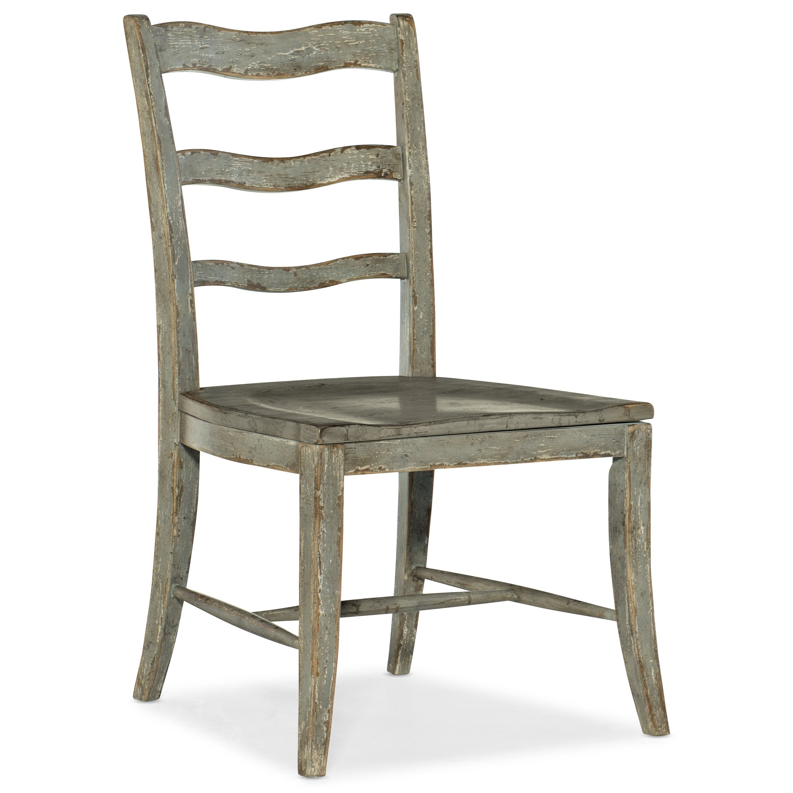 Alfresco La Riva Ladder Back Side Chair by Hooker Furniture at Baer's Furniture