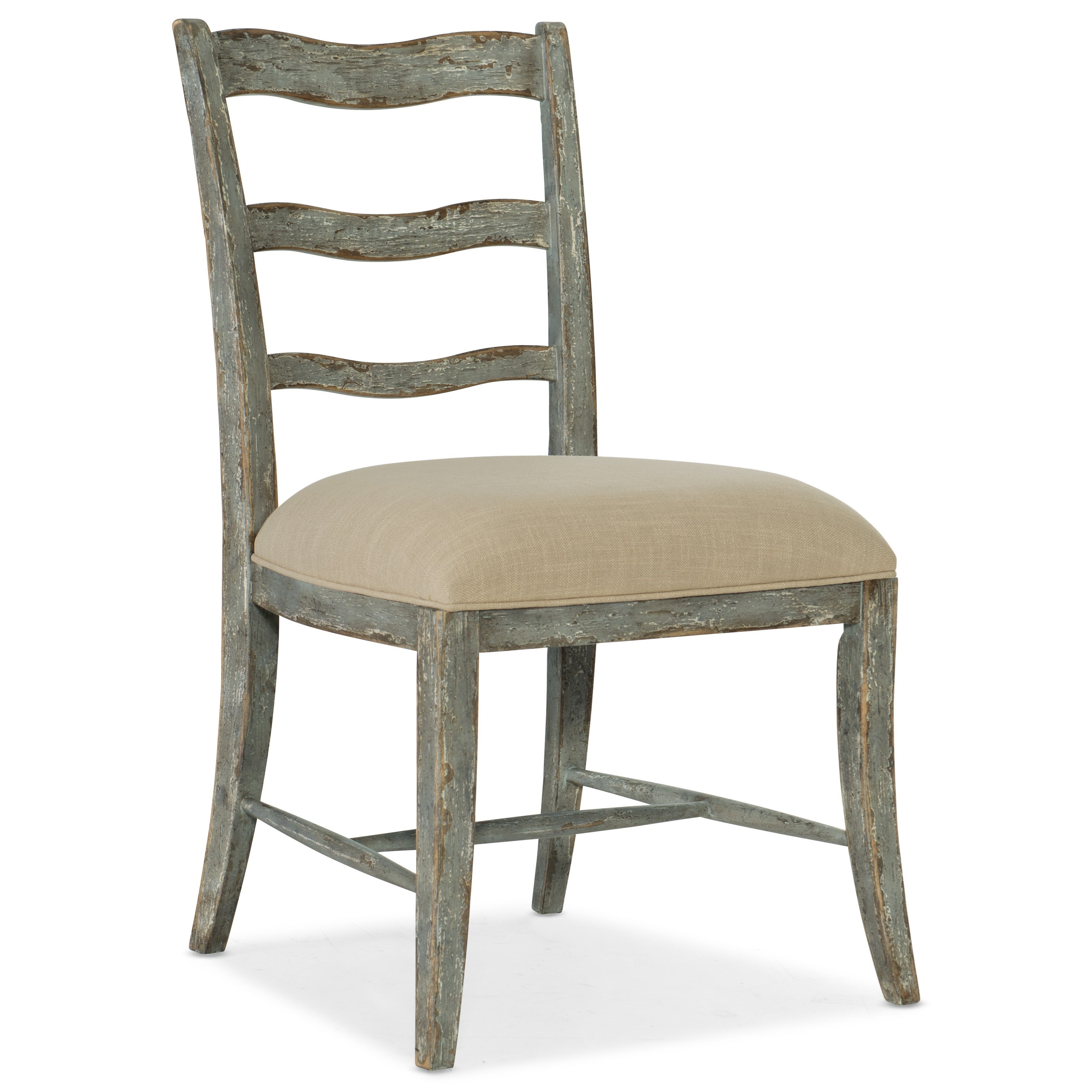 Alfresco La Riva Upholstered Seat Side Chair by Hooker Furniture at Fisher Home Furnishings