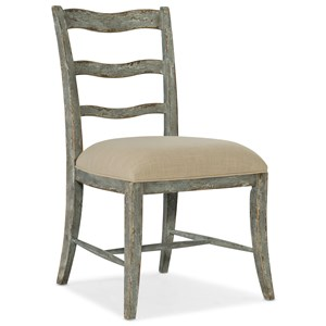 La Riva Upholstered Seat Side Chair