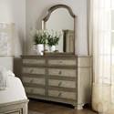 Hooker Furniture Alfresco Dresser and Mirror Set - Item Number: 6025-90002-83+90004-14