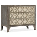 Hooker Furniture Alfresco Bellissimo Bachelors Chest - Item Number: 6025-90117-95