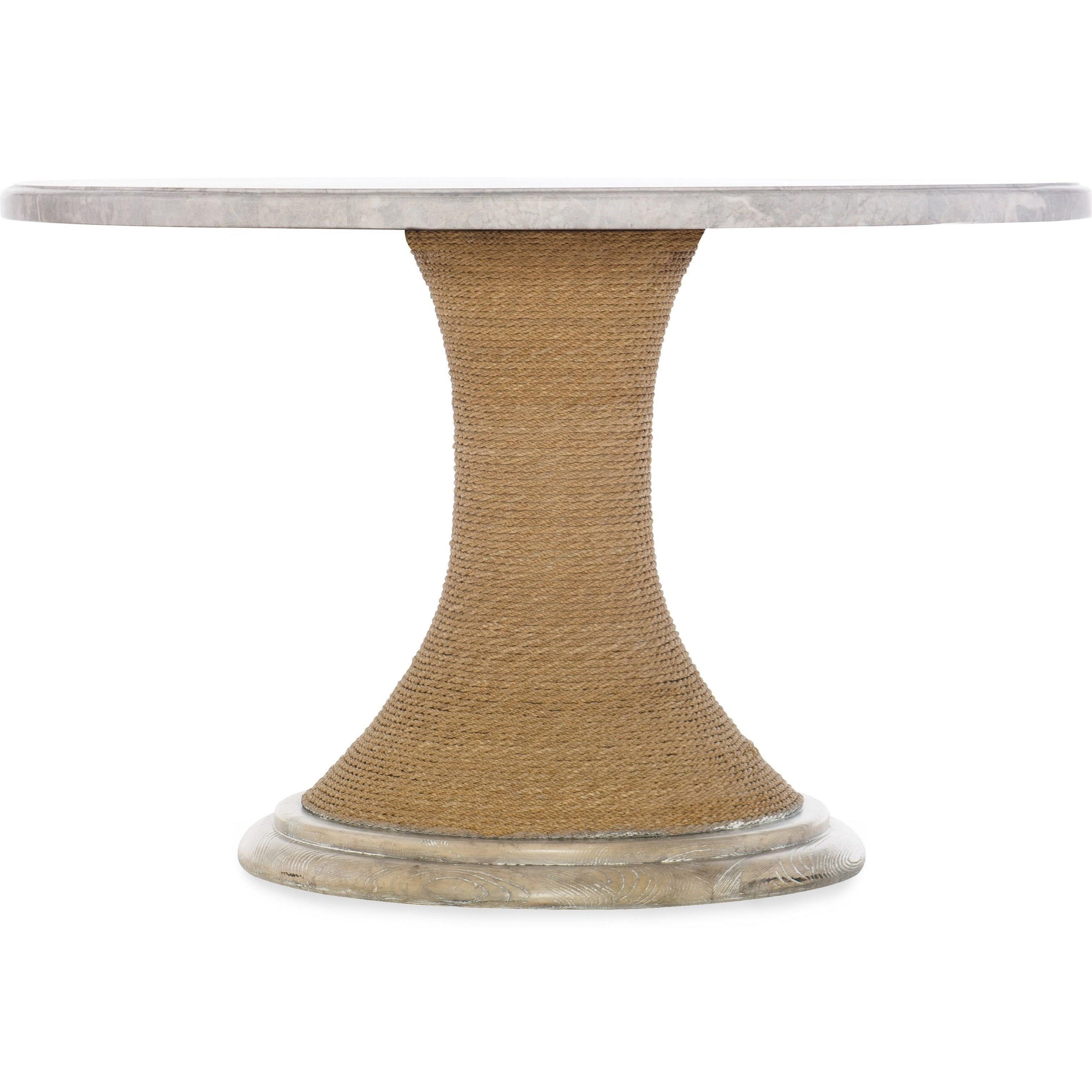 48-inch Round Pedestal Dining Table
