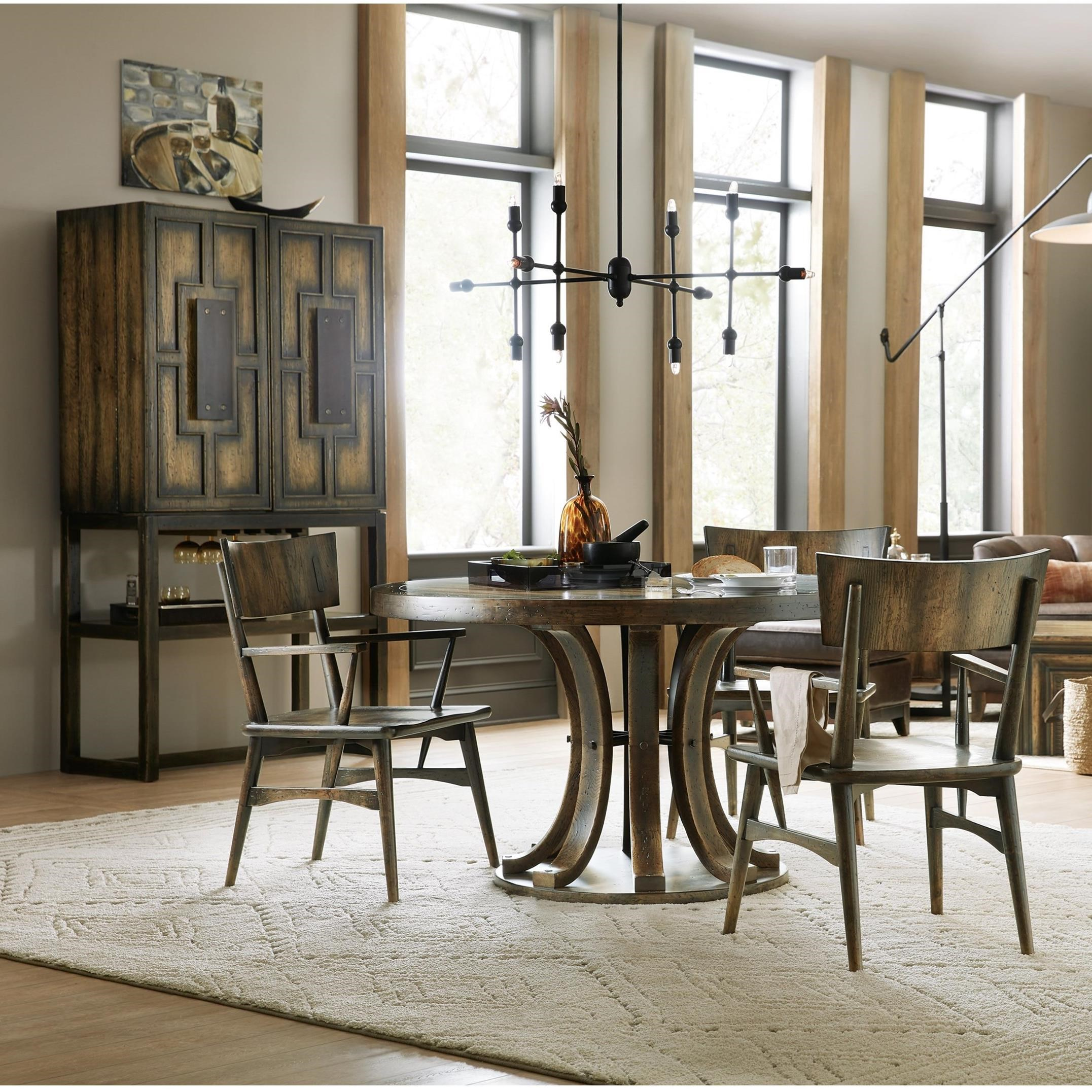 American Life-Crafted Casual Dining Room Group by Hooker Furniture at Baer's Furniture