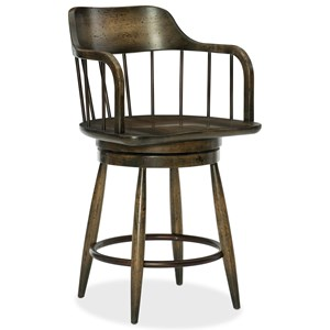 Hooker Furniture American Life-Crafted Counter Stool