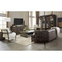 Hooker Furniture American Life-Crafted Four Door Entertainment Console