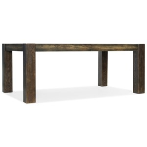 Hooker Furniture American Life-Crafted Rectangle Dining Table with Leaves