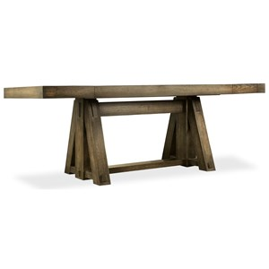 Hooker Furniture American Life-Crafted Friendship Table with Leaves