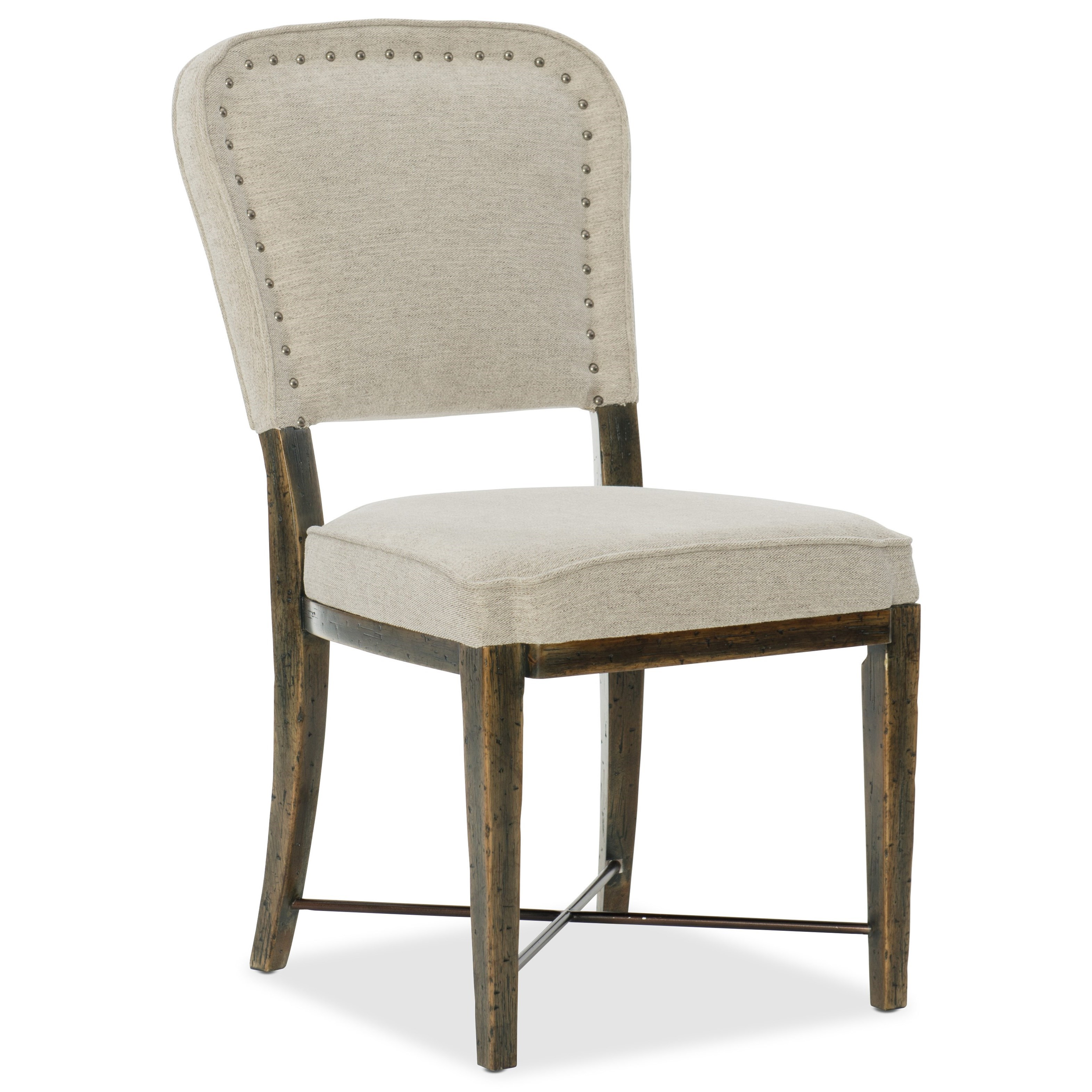 Hooker Furniture American Life-Crafted Upholstered Side Chair - Item Number: 1654-75410-DKW1