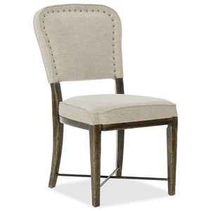 Hooker Furniture American Life-Crafted Upholstered Side Chair
