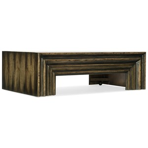 Hooker Furniture American Life-Crafted Rectangle Cocktail Table