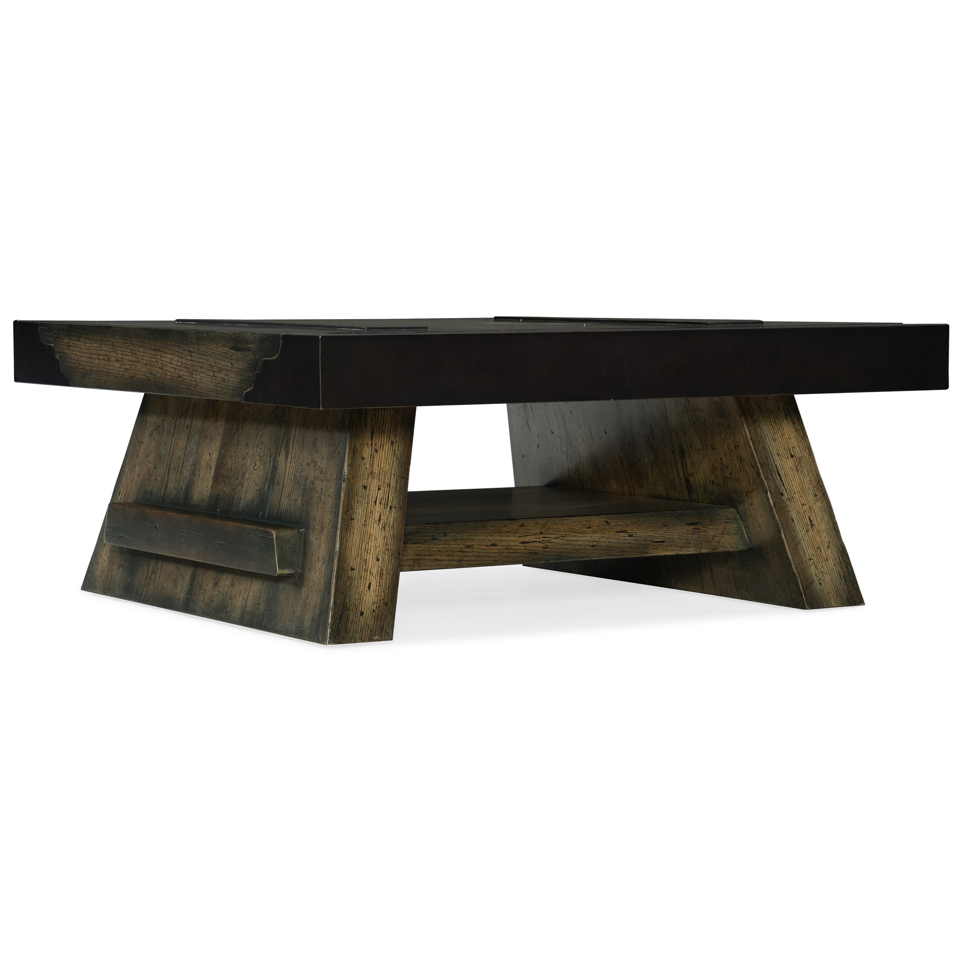 Hooker Furniture American Life-Crafted Cocktail Table - Item Number: 1654-80111-DKW1