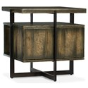 Hooker Furniture American Life-Crafted Lamp Table - Item Number: 1654-80115-DKW1
