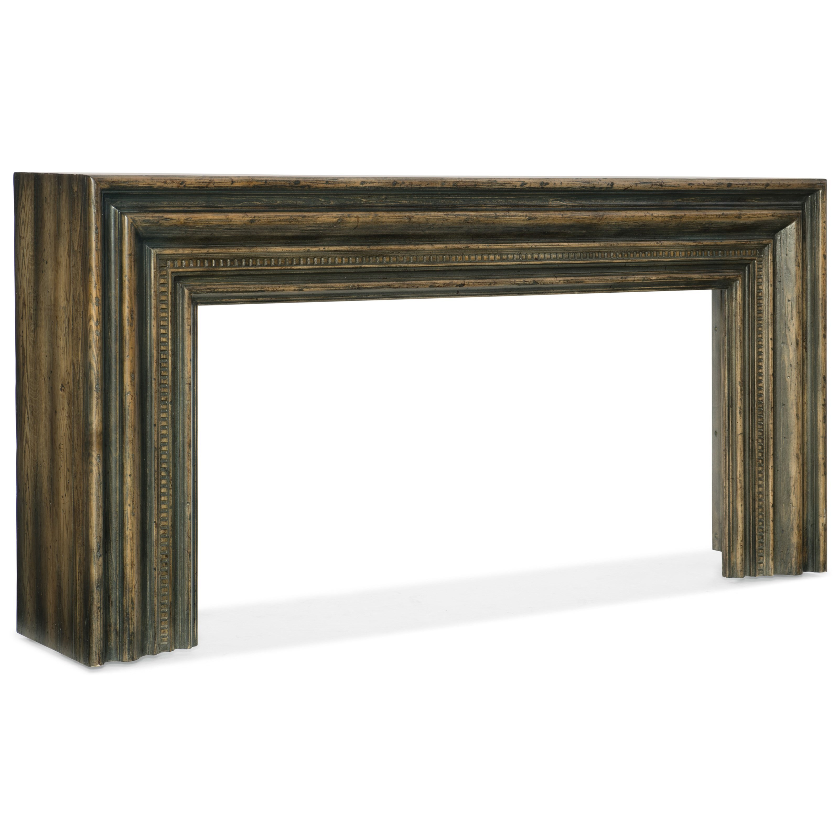 Hooker Furniture American Life-Crafted Hall Console - Item Number: 1654-85001-DKW1