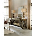 Hooker Furniture American Life-Crafted Rectangular Console Table with Shelf