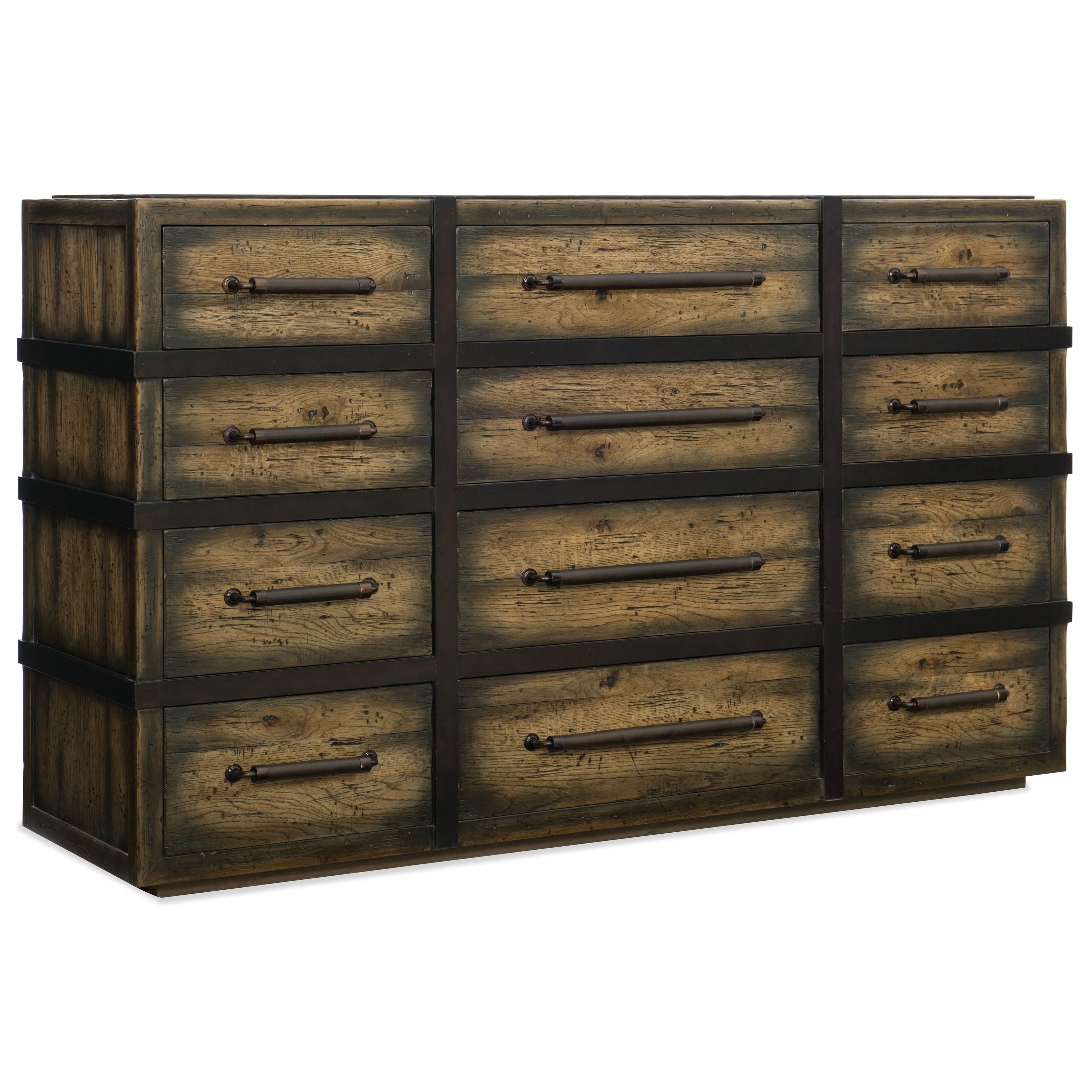 Twelve-Drawer Dresser