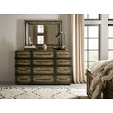Hooker Furniture American Life-Crafted Vertical Wood Mirror