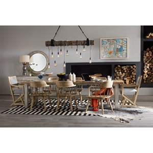 Hooker Furniture American Life-Urban Elevation Formal Dining Room Group
