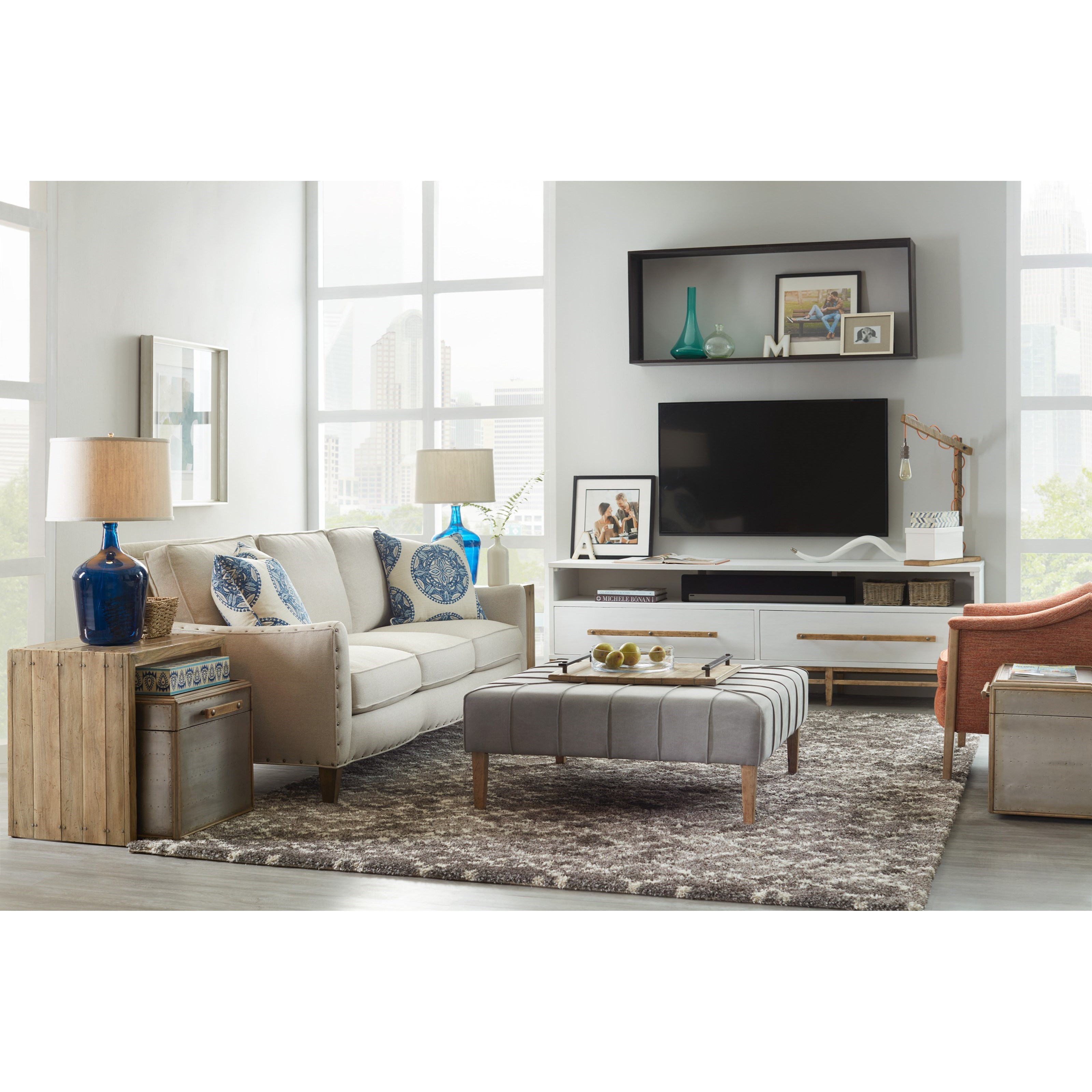 Hooker Furniture American Life Urban Elevation 2 Drawer Low Entertainment Console Zak 39 S Fine