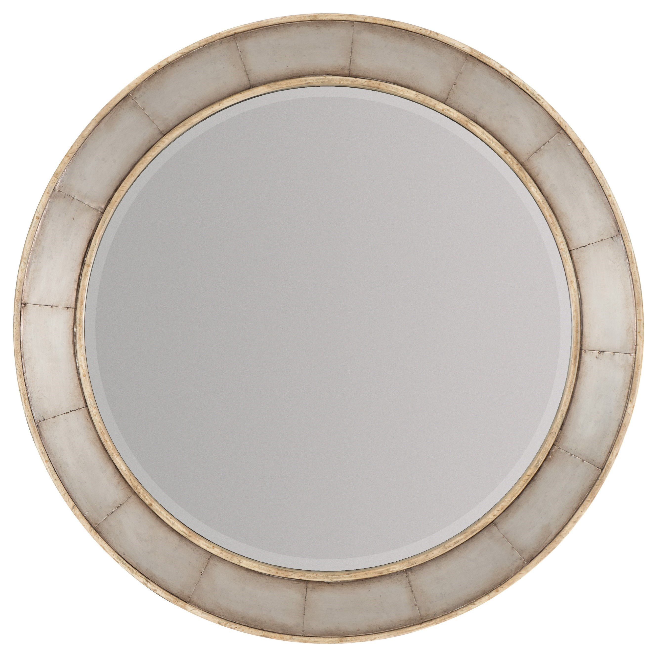Hooker Furniture American Life-Urban Elevation Round Mirror - Item Number: 1620-90007-LTBR