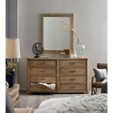 Hooker Furniture American Life-Urban Elevation Eight-Drawer Dresser with Curved Front