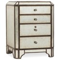 Hooker Furniture Arabella Mirrored Lateral File - Item Number: 1610-10412-EGLO