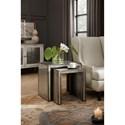 Hooker Furniture Arabella Mirrored Nesting Tables