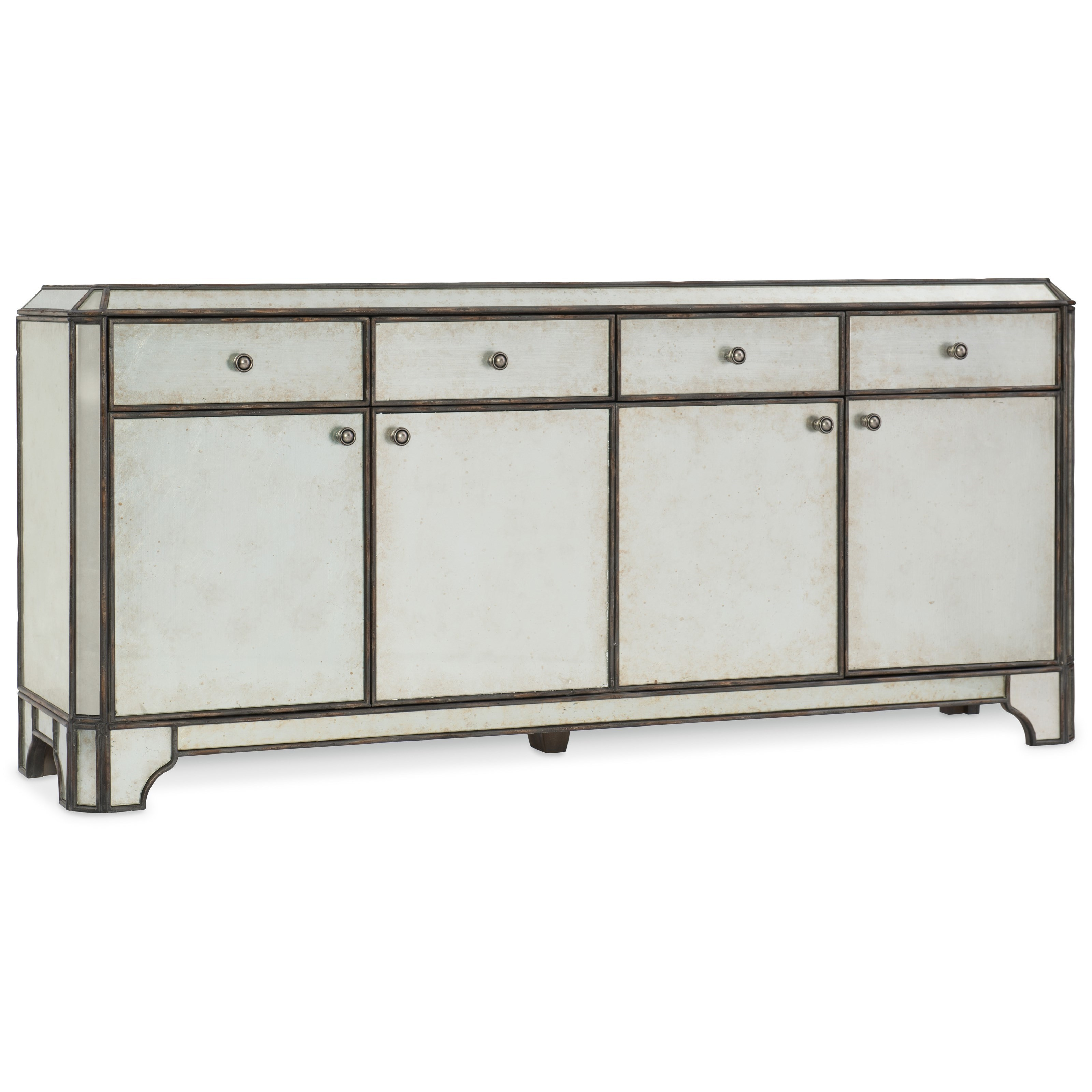 Hooker Furniture Arabella Entertainment Console - Item Number: 1610-55474-EGLO