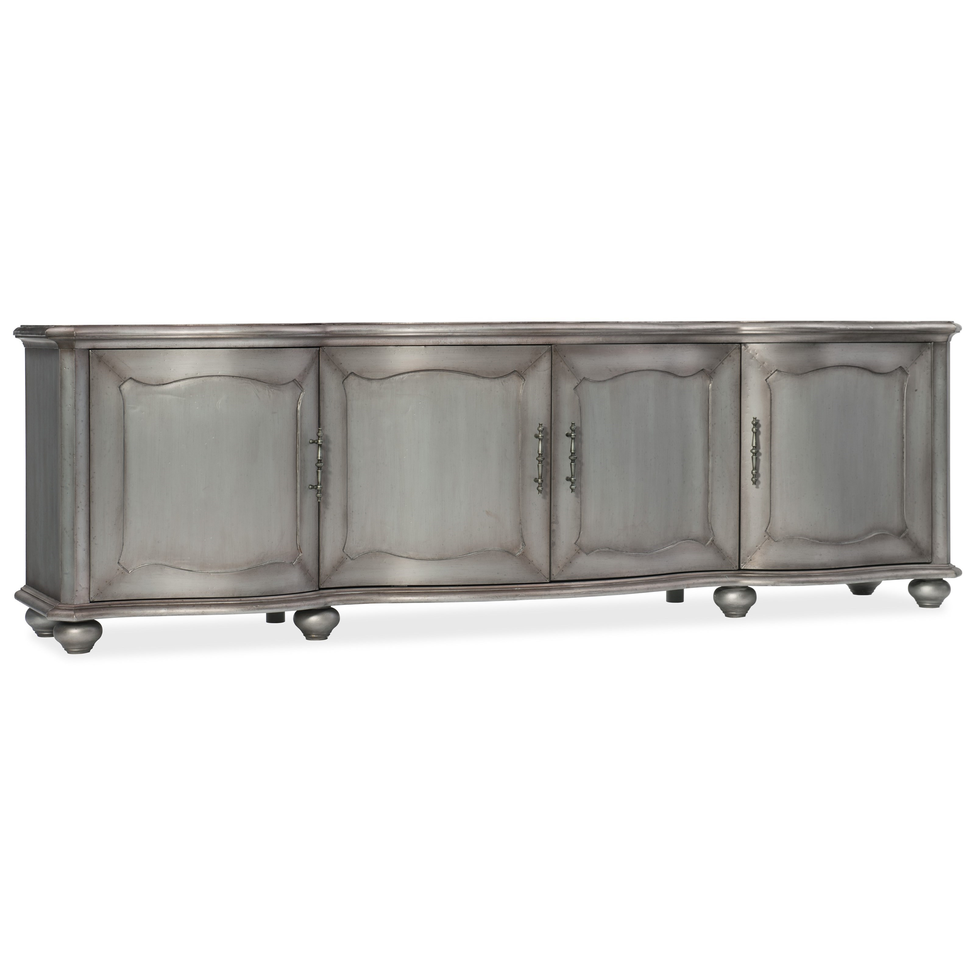 Hooker Furniture Arabella Entertainment Console - Item Number: 1610-55490-MTL