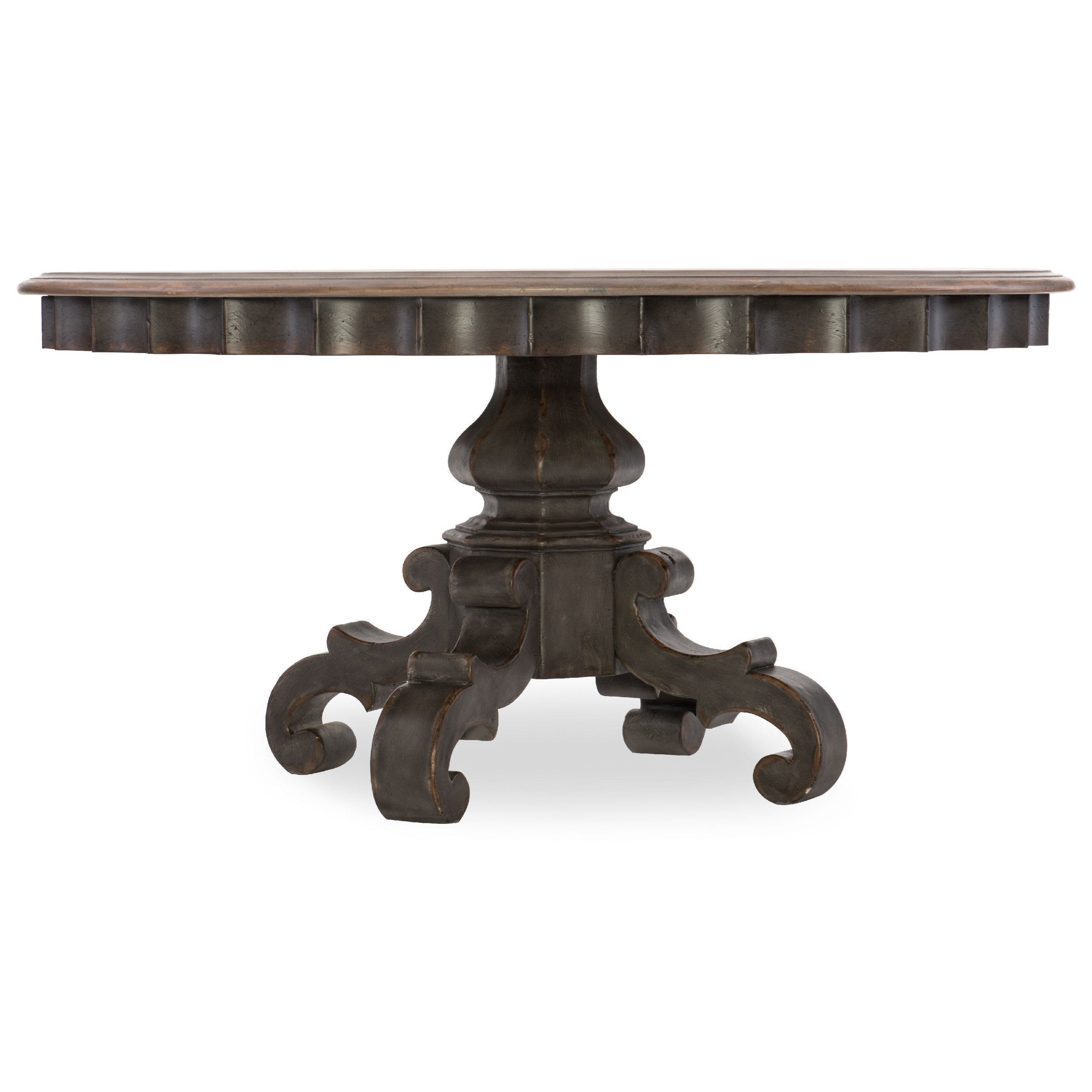 60in Round Pedestal Dining Table