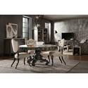 Hooker Furniture Arabella 60in Round Pedestal Dining Table