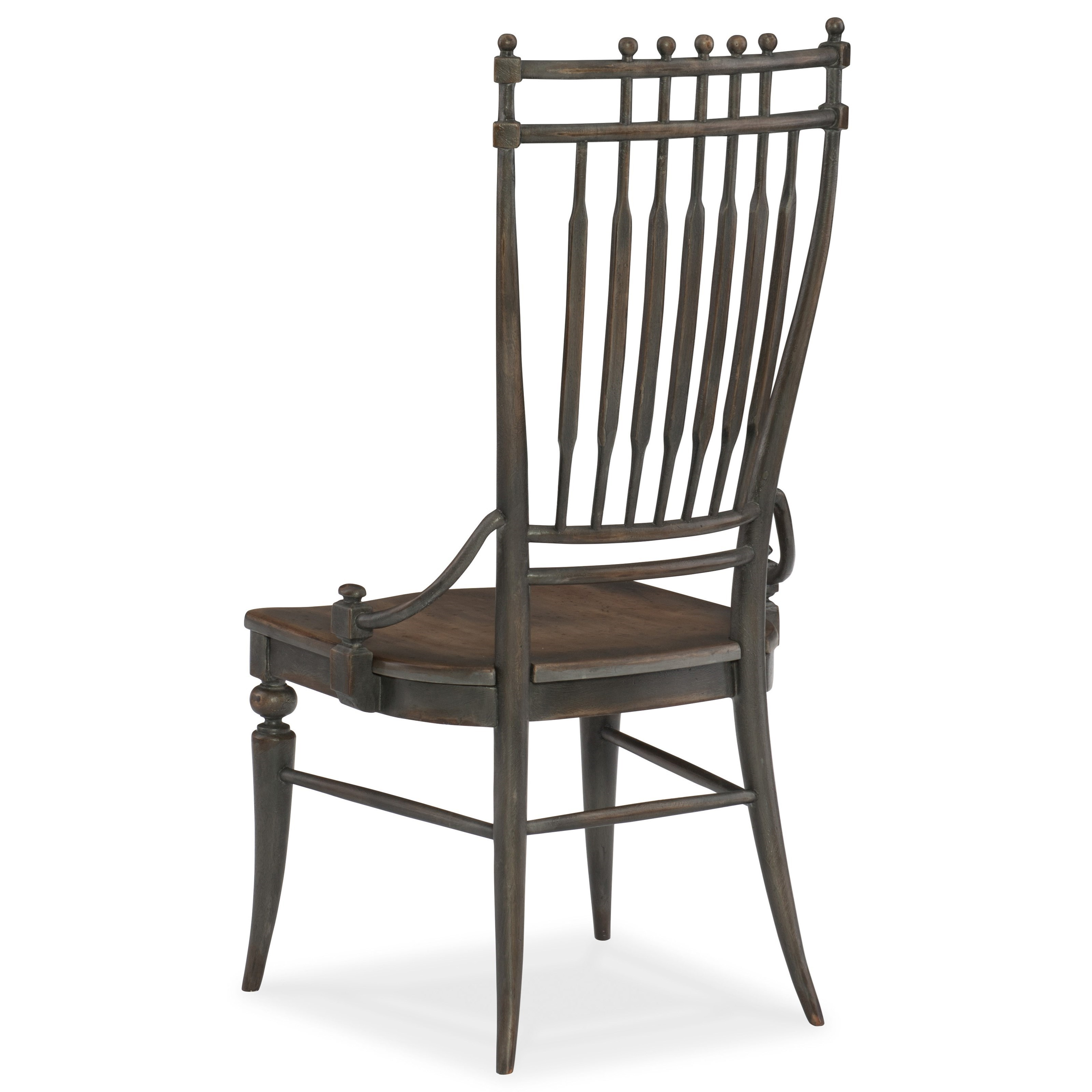 Hooker Furniture Arabella Windsor Side Chair - Item Number: 1610-75310A-GRY