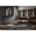 Hooker Furniture Arabella Metal Frame Cocktail Table