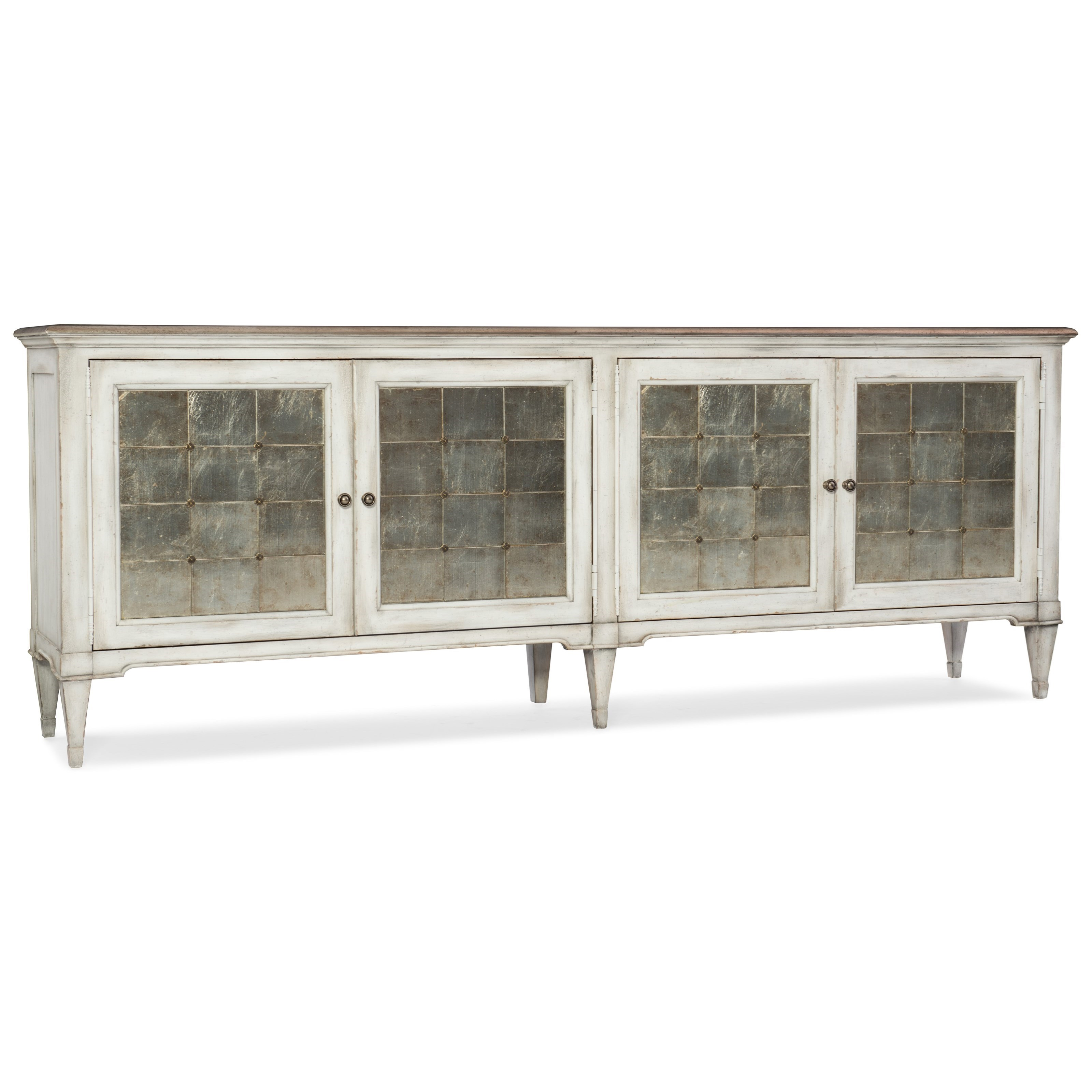 Arabella Four-Door Credenza by Hooker Furniture at Alison Craig Home Furnishings