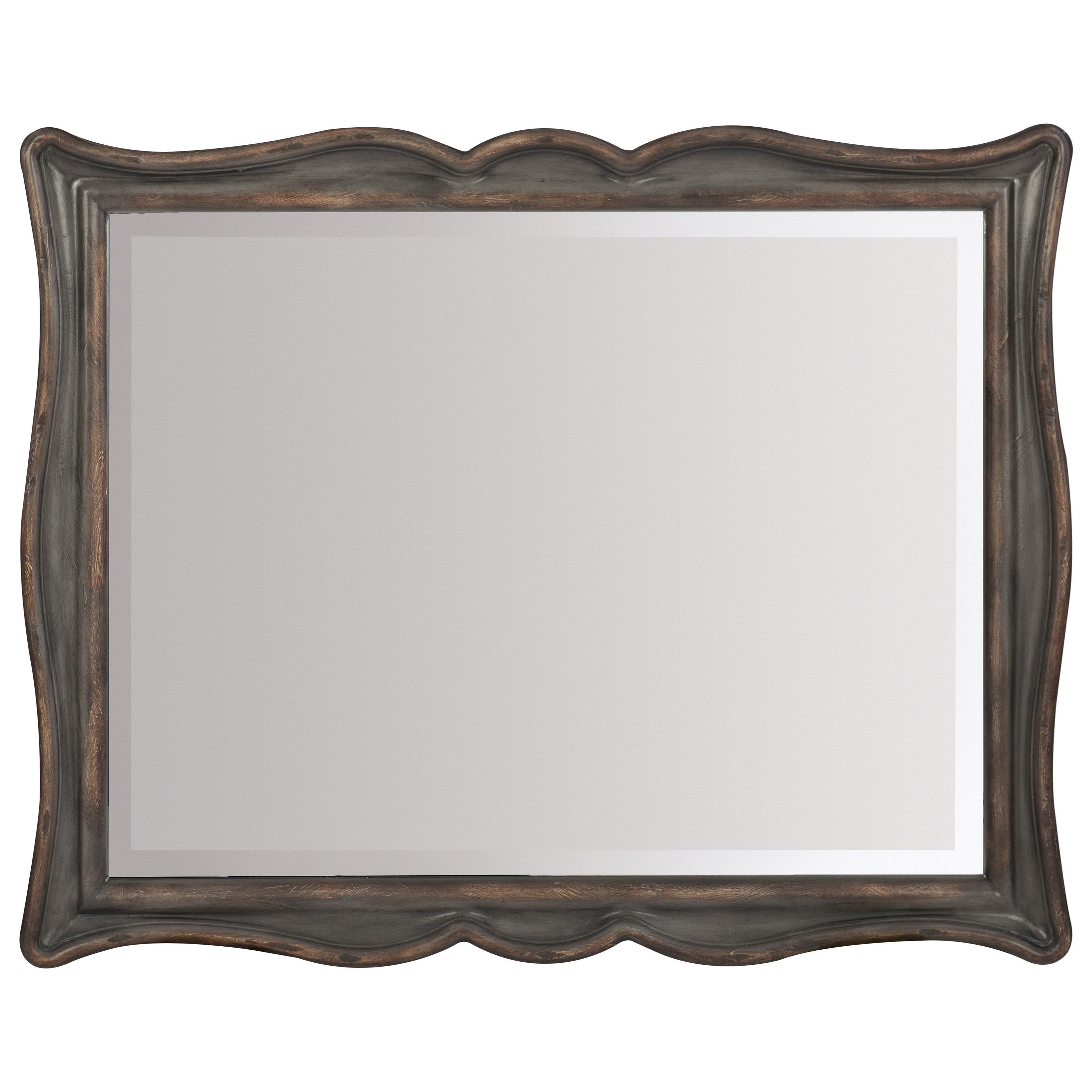 Hooker Furniture Arabella Landscape Mirror - Item Number: 1610-90009-GRY