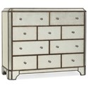 Hooker Furniture Arabella Ten-Drawer Bureau - Item Number: 1610-90011-EGLO