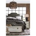 Hooker Furniture Arabella King Upholstered Panel Bed