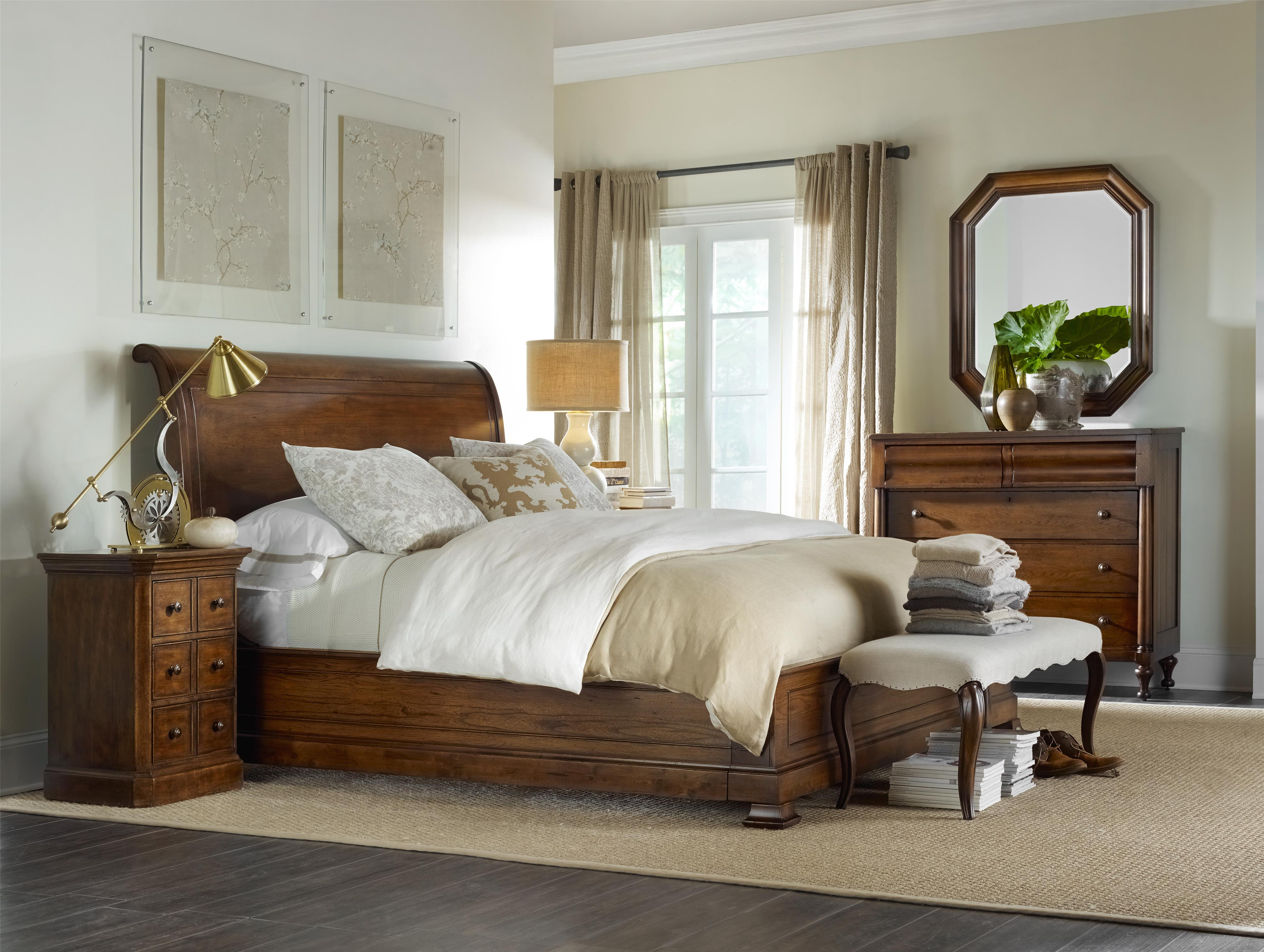 Hamilton Home Sentinel: Pecan Queen Bedroom Group - Item Number: 5447 Q Bedroom Group 1