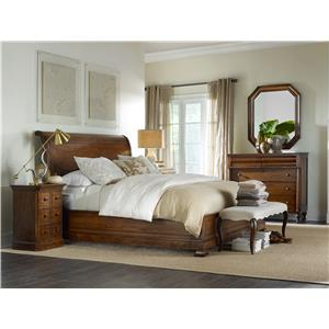 Hamilton Home Sentinel: Pecan Queen Bedroom Group