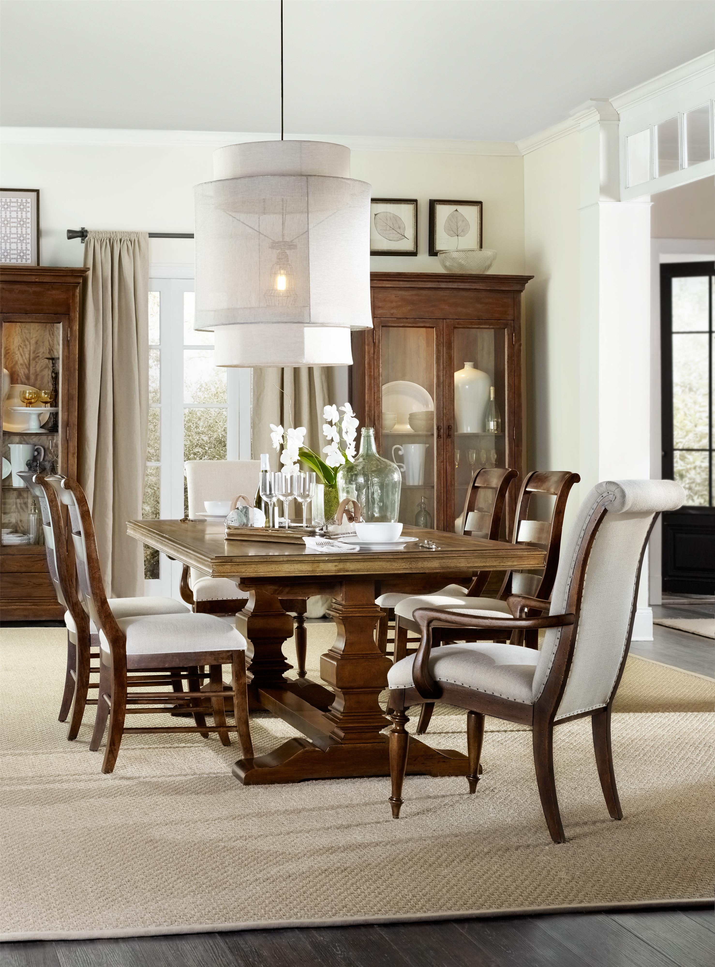Hamilton Home Sentinel: Pecan Formal Dining Room Group - Item Number: 5447 Toffee Dining Room Group 1