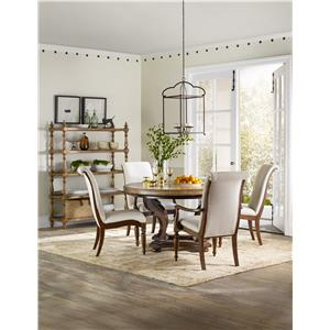 Hooker Furniture Archivist Formal Dining Room Group