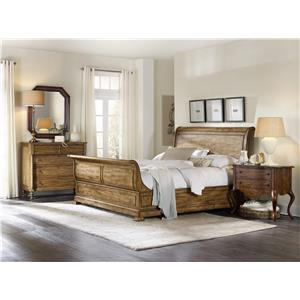 Hamilton Home Sentinel: Toffee Queen Bedroom Group