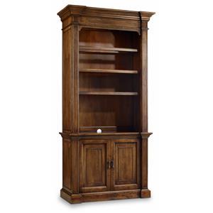 Hamilton Home Sentinel: Pecan Bookcase