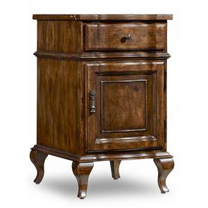 Hamilton Home Sentinel: Pecan Accent Chairside Chest