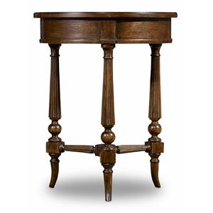 Hamilton Home Sentinel: Pecan Round Accent Table