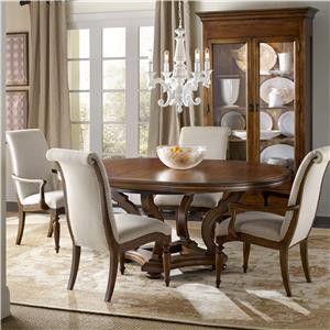 Hamilton Home Sentinel: Pecan 5 Piece Dining Set