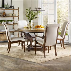 Hooker Furniture Archivist 5 Piece Dining Set
