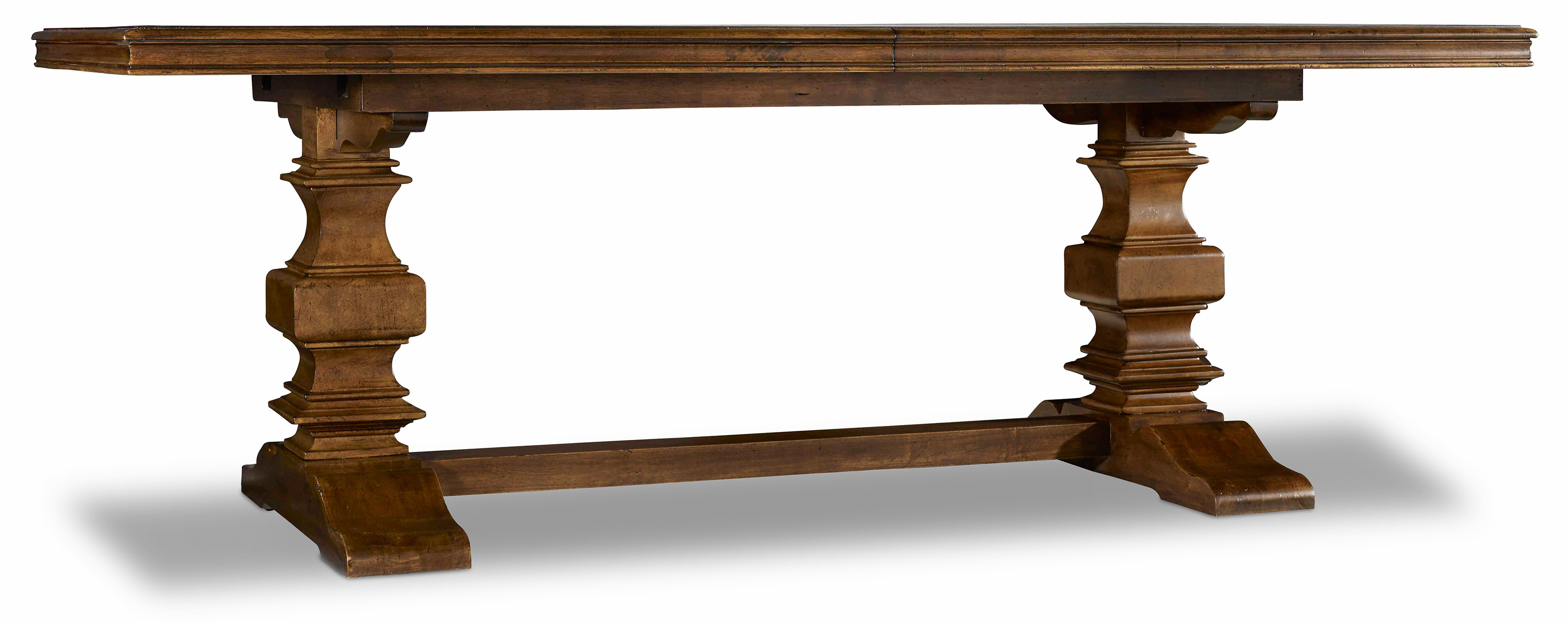 Archivist Trestle Table by Hooker Furniture at Miller Waldrop Furniture and Decor