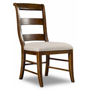 Hamilton Home Sentinel: Pecan Ladderback Side Chair